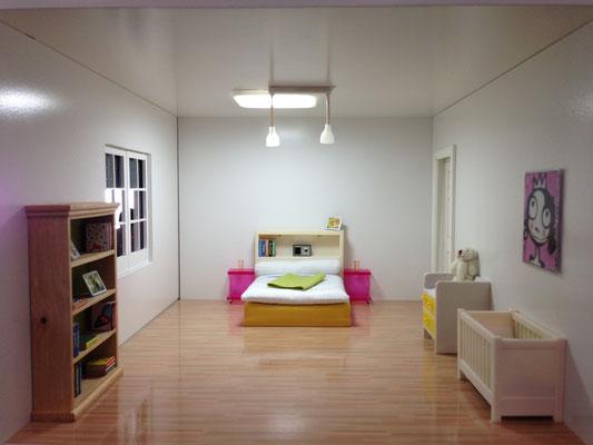 Lichtsteuerung Schlafzimmer