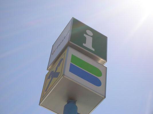 Projekt Raiba Faak 4seitiger Lichtaustritt mit Drehmotor