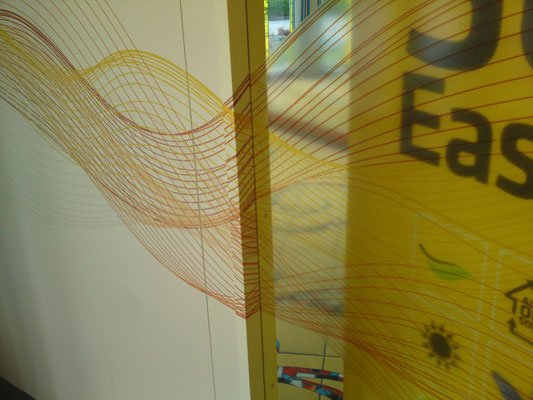 Fortlaufender Digitaldruck auf Wand & Türen II