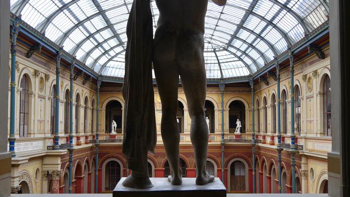 Cour vitrée du Palais des Études, 1829, Ecole des Beaux Arts, 75006 Paris, F,