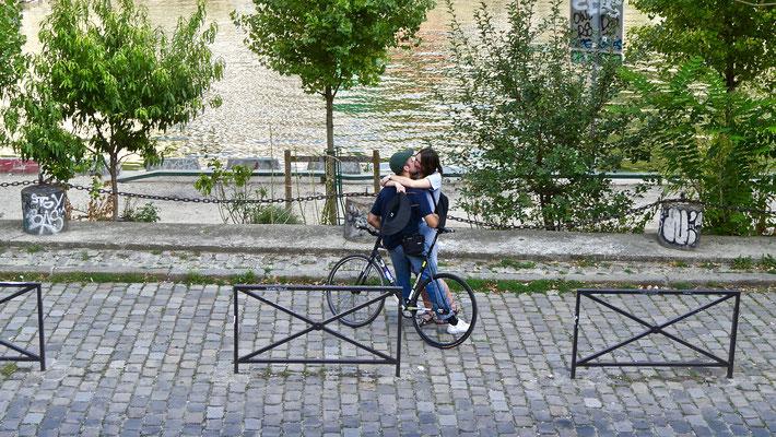 Baisers,  Point Ephémère, Canal Saint Martin, 75010 Paris, F,
