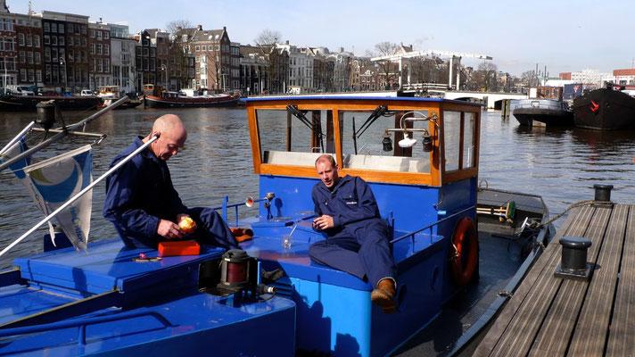 Dejeuner, Péniche nettoyage, Amsterdam, Holland, Nl, P1060714.JPG.jpg