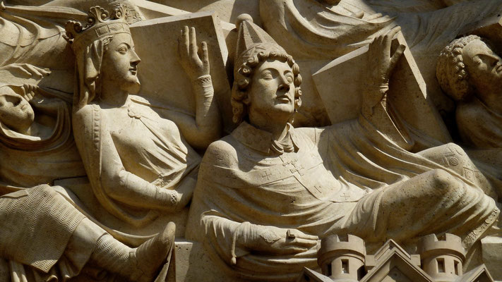 Sculpture, Notre Dame de Paris, Paris, F,  P1010989.JPG