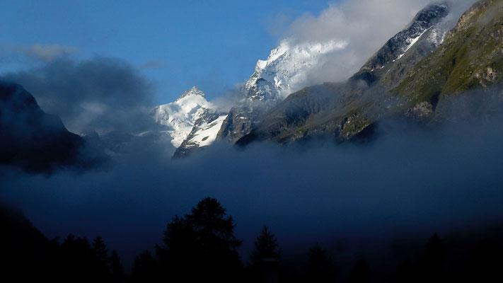 Mont Zinal, Depuis Pralonzet, Zinal, Anniviers, Valais, Suisse, Ch,  P1040008.JPG