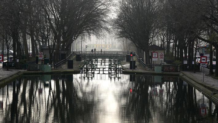 Ecluse des Morts, Canal Saint Martin ,75010 Paris, F,