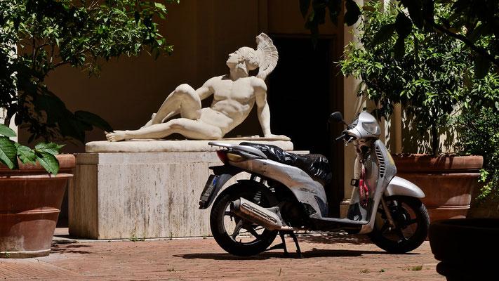 """Pause bronzage"",  Rome, Italie, It,"