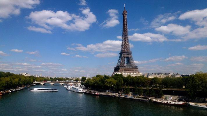 Tour Eiffel,  depuis Métro,  Paris, F,