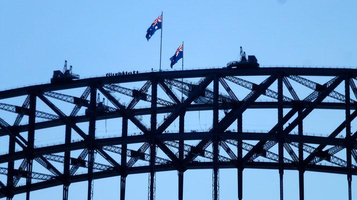 """Visite, Pont  """"Harbour Bridge"""", depuis bateau , Sydney, Australie, Aus, P1020785.JPG"""