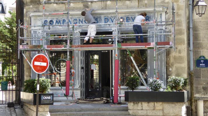 """""""Les Compagnons du Devoir"""", rue Brosse, 75004 Paris, F,"""