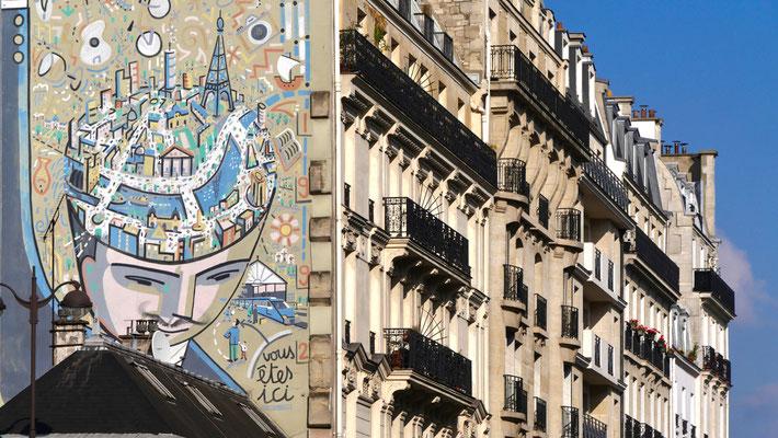 Graph, rue Lafayette, 75010 Paris, F,