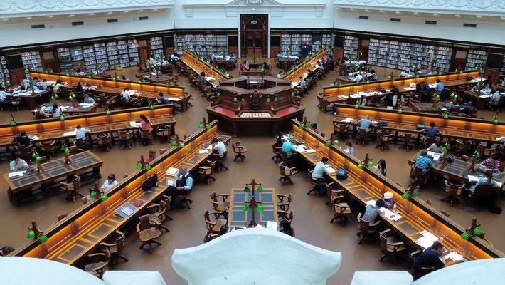 Salle du Dôme, Bibliothèque de Melbourne, Melbourne, Australie, Aust,  P1020102.JPG.JPG