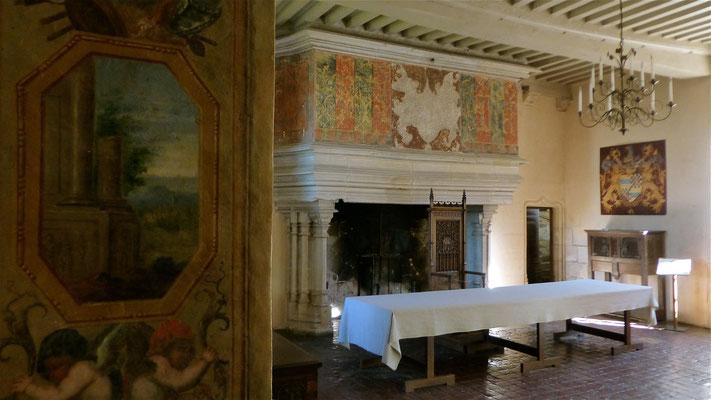 Chateau de Chateauneuf en Auxois, F,