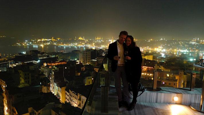 Swedish couple, Marmara Pera bar, Istambul, Turkey,   P1070638