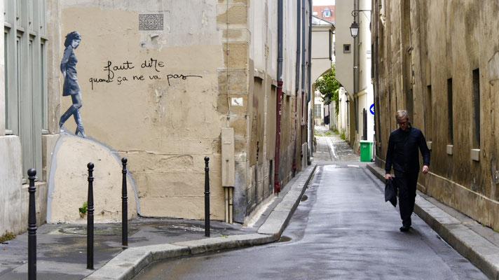 Graph, Collage, Le Marais, 75010 Paris, F,