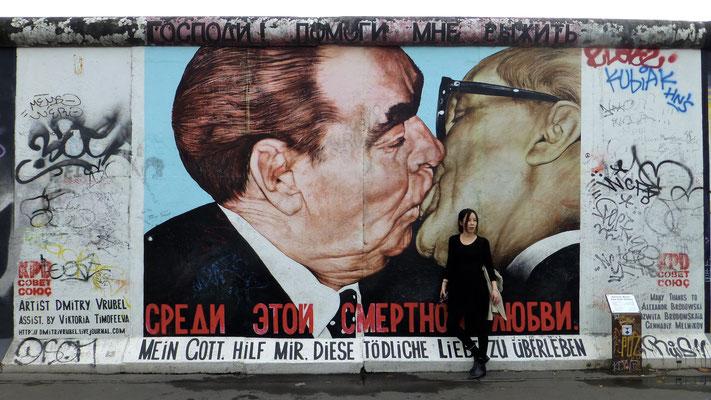 Graph, Mur de Berlin, East Side Gallery, Berlin, D,  P1040920