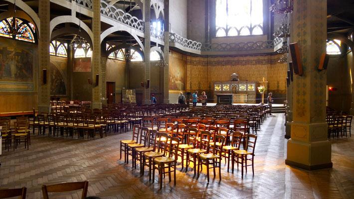 Eglise Saint-Jean de Montmartre, première église en ciment armé (1894-1904), Montmartre, 75018 Paris, F,