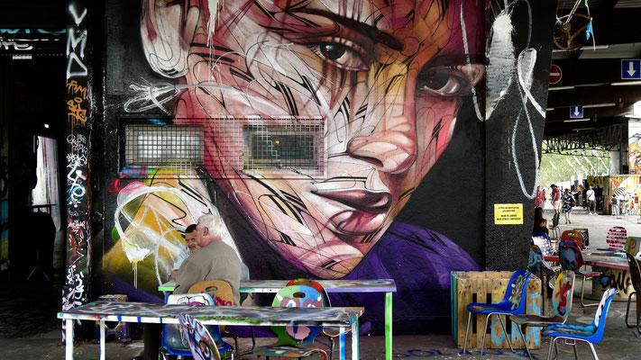 Graph , Aérosol, Lieu éphémère, 54 rue de l 'Evangile, 75018 Paris, F,