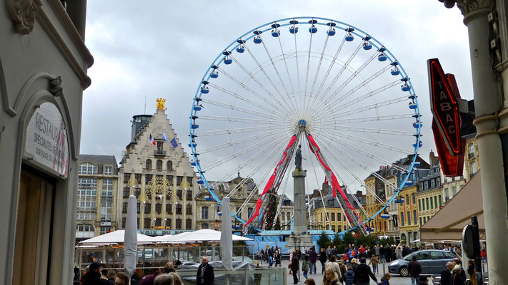 Grande roue, Grand Place Lille, F,
