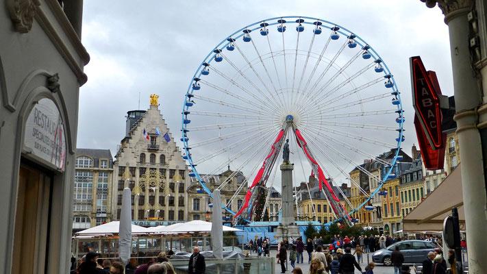 Grande roue, Grand Place Lille, F,