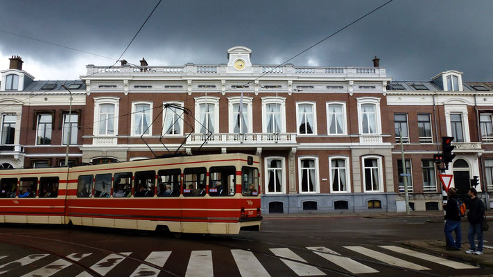 Tramway, House, The Hague, Netherlands, Nl,  P1010891.JPG