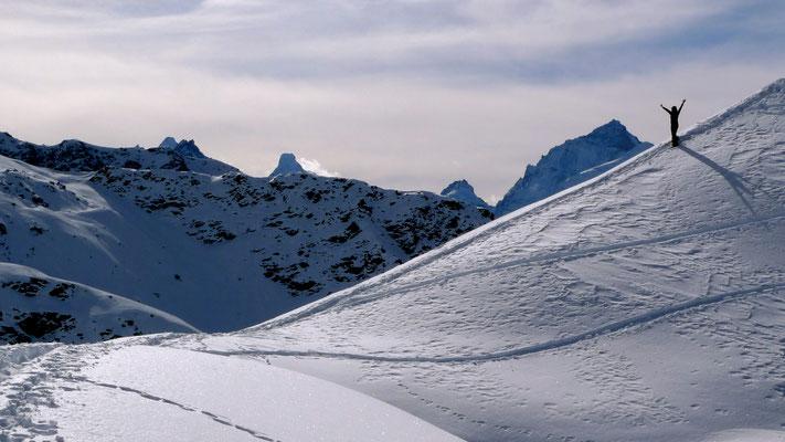 An', col de Bella-Vouardaz (2621 m), Treck, Weisshorn - Ayer, Anniviers, Valais, Ch,  P1160397.JPG