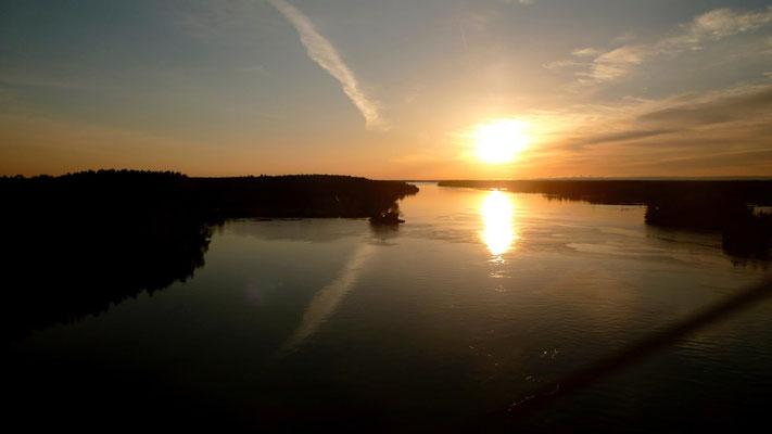 Le Saint Laurent, frontière américaine, Ontario Canada, Can, P1170044.JPG