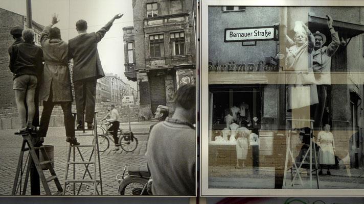 Photos du mur, Mémorial, Mauer Strasse, Berlin, D,P1000250
