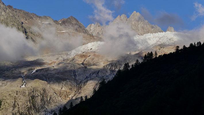 Le Glacier du Tour,  Argentières,  Chamonix, F,