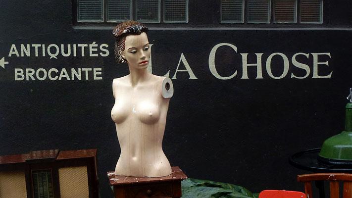 Mannequins, Vide grenier, Brocante, Oberkampf, 75011 Paris, F,  P1040391.JPG