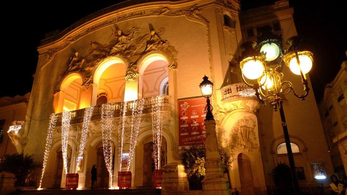 Théatre de Tunis, art nouveau,  Tunisie, Tu,