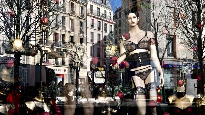 Mannequin, Mademoiselle Claverie, Bd Faubourg Saint Martin, 75010 Paris, F,