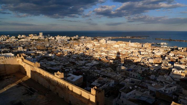 Médina de Sousse, depuis la Tour  phare de Khalef, Sousse, Tun,  P1050596.JPG.jpg