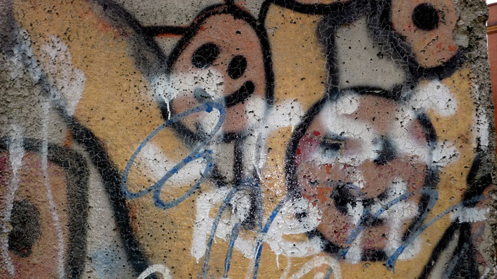 """Détail, """"Mur de Berlin"""", Ministère de l'intérieur,  Berlin, Germany, D,   P1150153.JPG"""