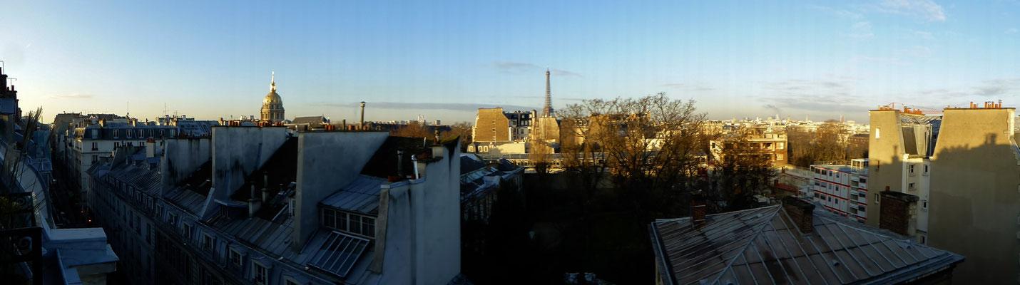 Pano Lumix, Chez Mâ, Vue sur Paris, 75007 Paris, F,  P1000188