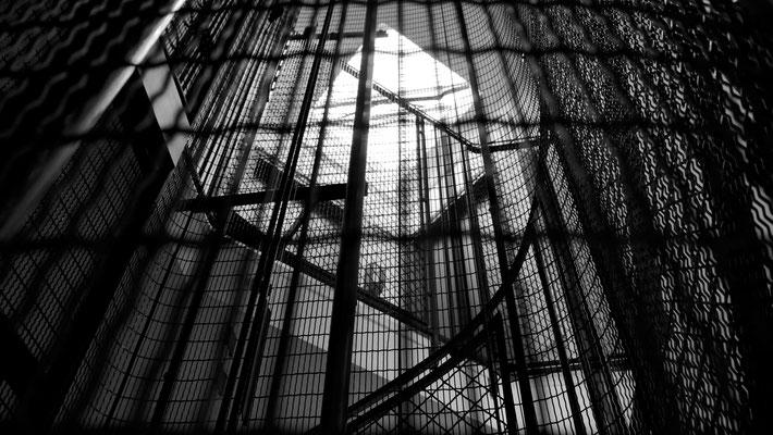 Escalier, Parodi 75010 Paris, F,