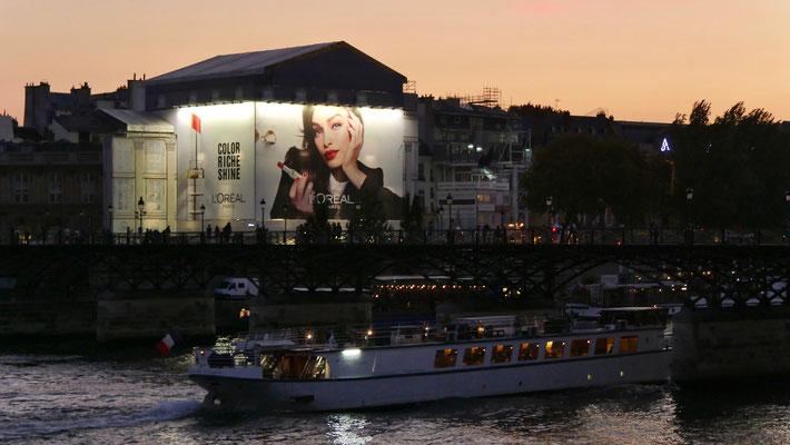 Passerelle des Arts, Seine, 75001 Paris, F,