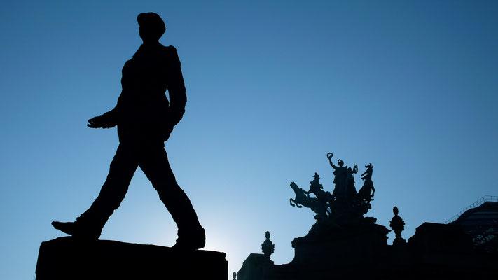 Statue du Général de Gaulle, Grands Palais, Paris, F,  P1050235.JPG.JPG