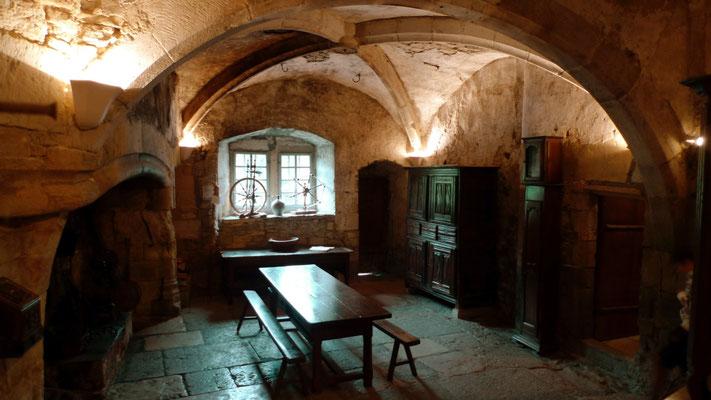 Cuisine, Cloître, Abbaye de Montbenoit, république du Saugeais, Doubs, Fr,  P1120595.JPG
