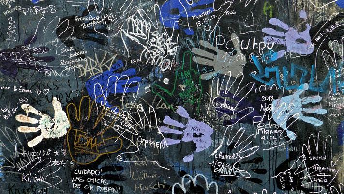 Graph, Mur de Berlin, East Side Gallery, Berlin, D,