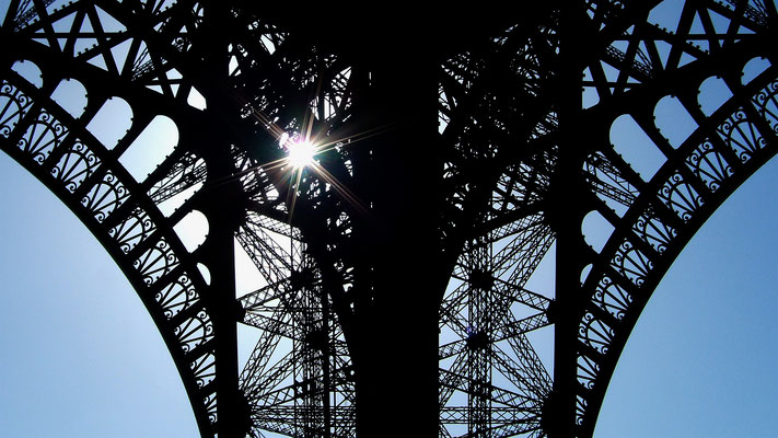 Détail, Tour Eiffel, 75007 Paris, F, .JPG
