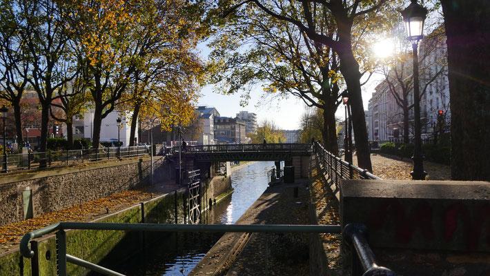 Ecluse des  Morts, Canal Saint Martin, 75010 Paris, F,