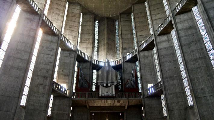Eglise Notre-Dame de Royan, béton armé,1958, 17200 Royan, Charente Maritime, F,