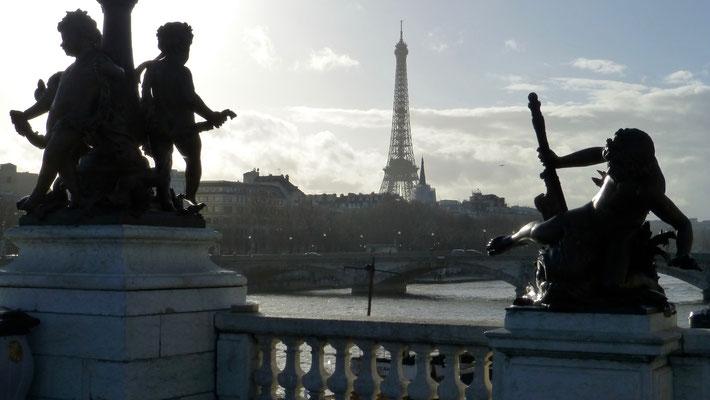 Tour Eiffel, du Pont Alexandre III, Paris, F, P1030562