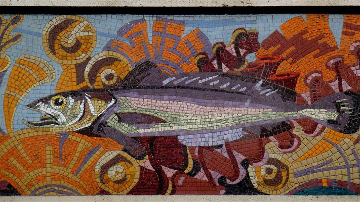 "Mosaiques, Restaurant "" L'huitrière"",  3 Rue Chats Bossus, 59800 Lille, Nord, F,P1000583"