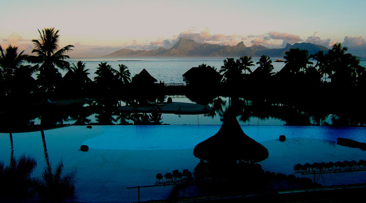 Moréa Island from Papetee, Tahiti,   .JPG