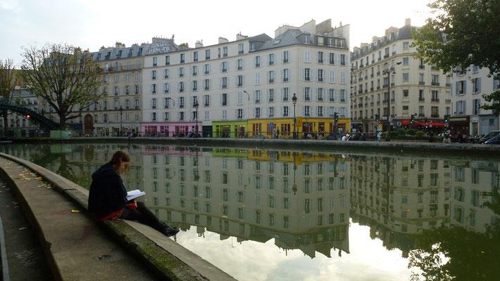 Quai de Valmy, Canal Saint Martin, Paris, F, P1040428