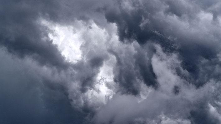 Ciel d' orage, les Adrechs, Ampus, F,