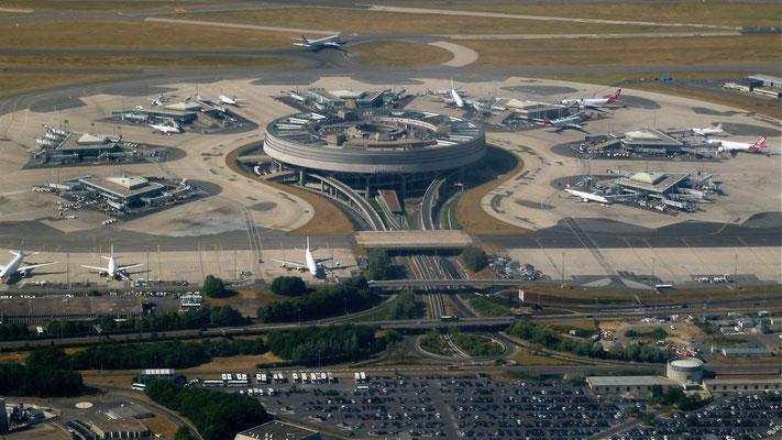 Aéroport Charles de Gaule, Roissy 1, Paris, F,  P1000870