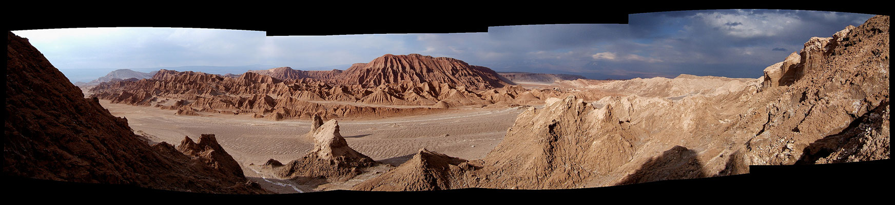 Panorama, Moon Valley, San Pedro ,Atacama, Chili, Chi,  .JPG
