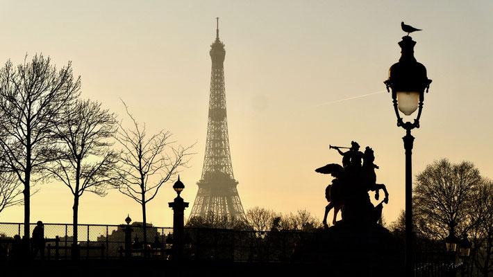 Tour Eiffel, Place de la Concorde, 75001 Paris, F,